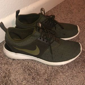 Olive green Nike Running Shoes